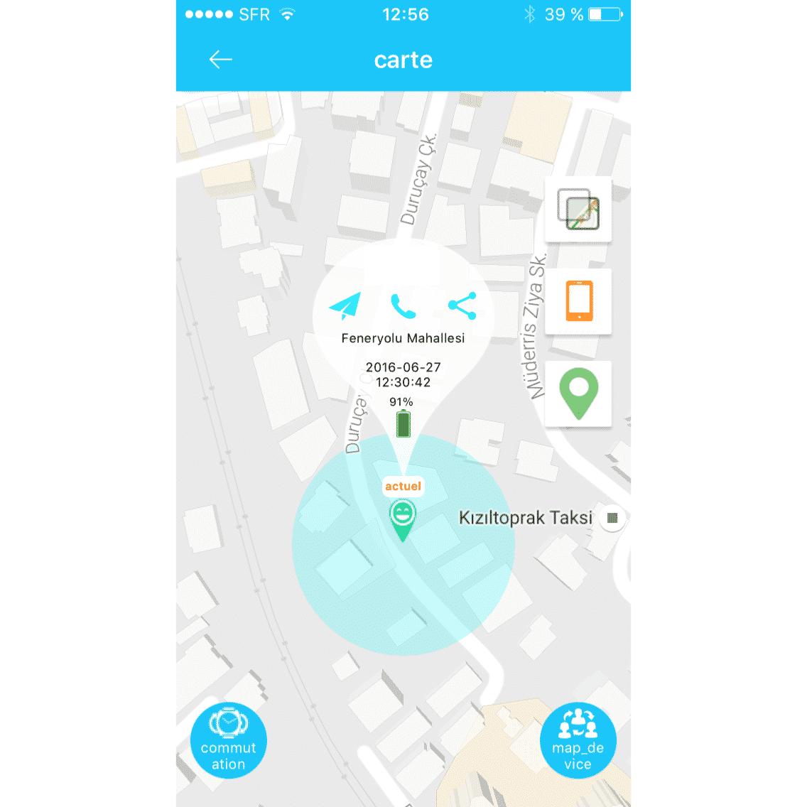 63484694ecc02 Montre GPS pour Senior/Alzheimer - Boutique enligne